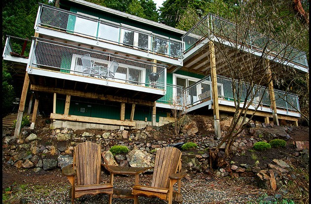 ALL NEW SEASIDE DECKS ~ The suite has an additional 400 square feet of waterfront decks.